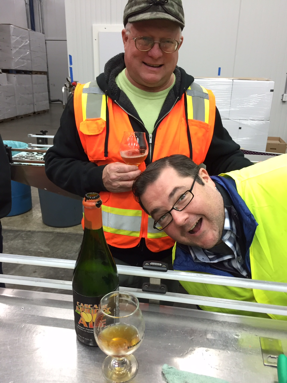 A perfect evocation of what it was like to tour the brewery with Ron, as John Holl and I did back in 2016.