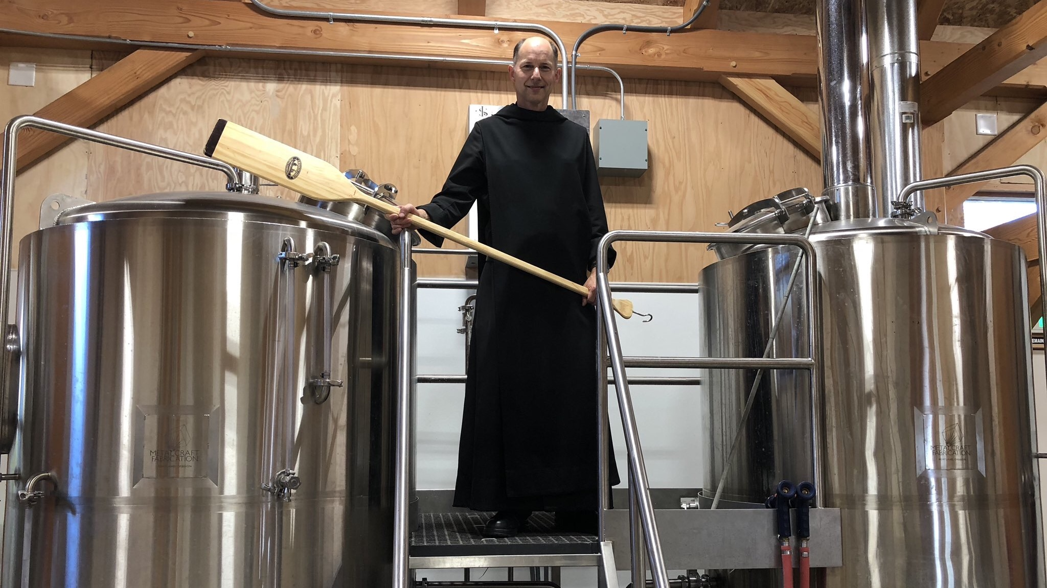 After a short five years, Father Martin and Benedictine Brewery get up and running in Mt Angel, Oregon.