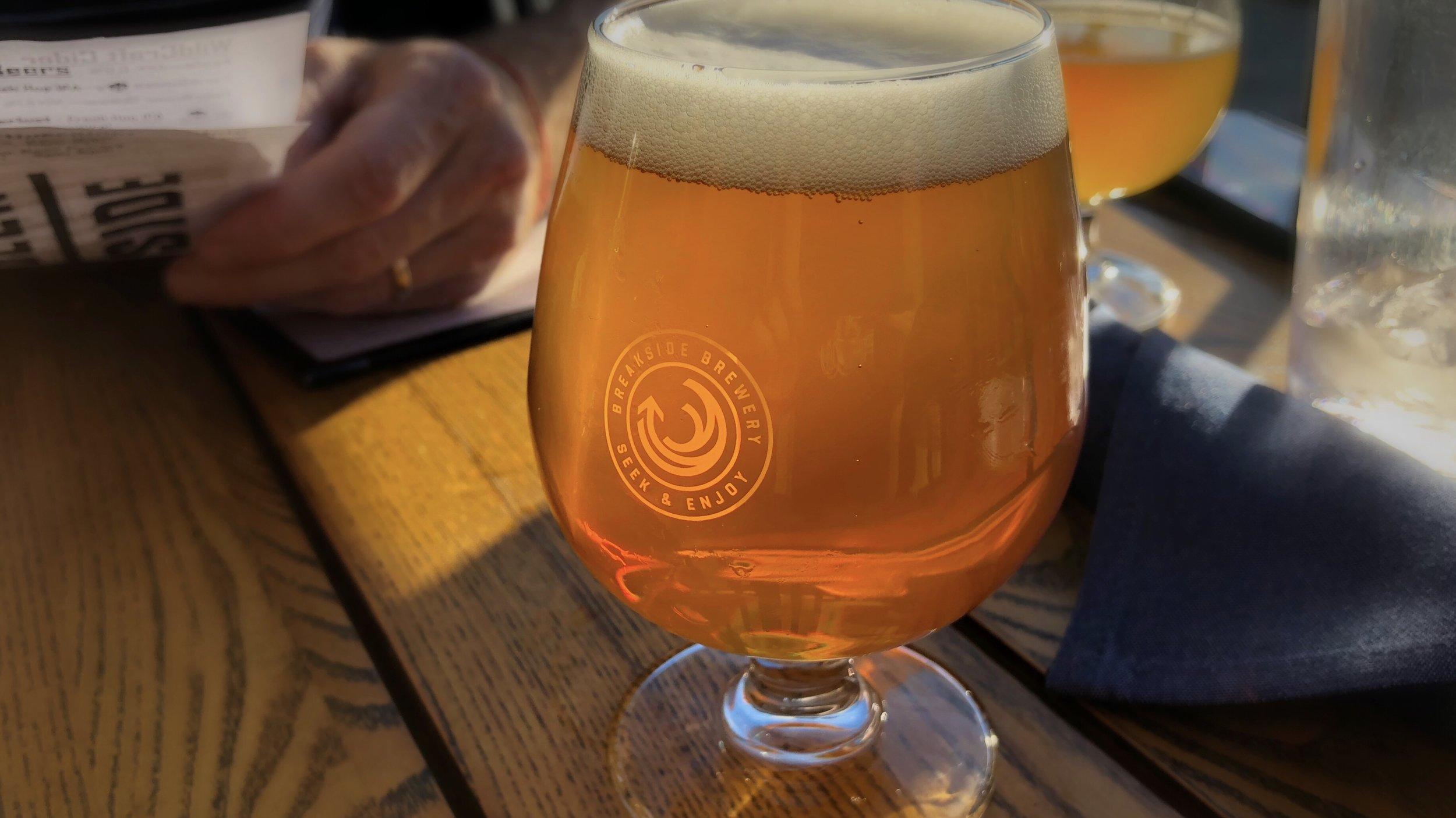 The last fresh-hop beer of the season.