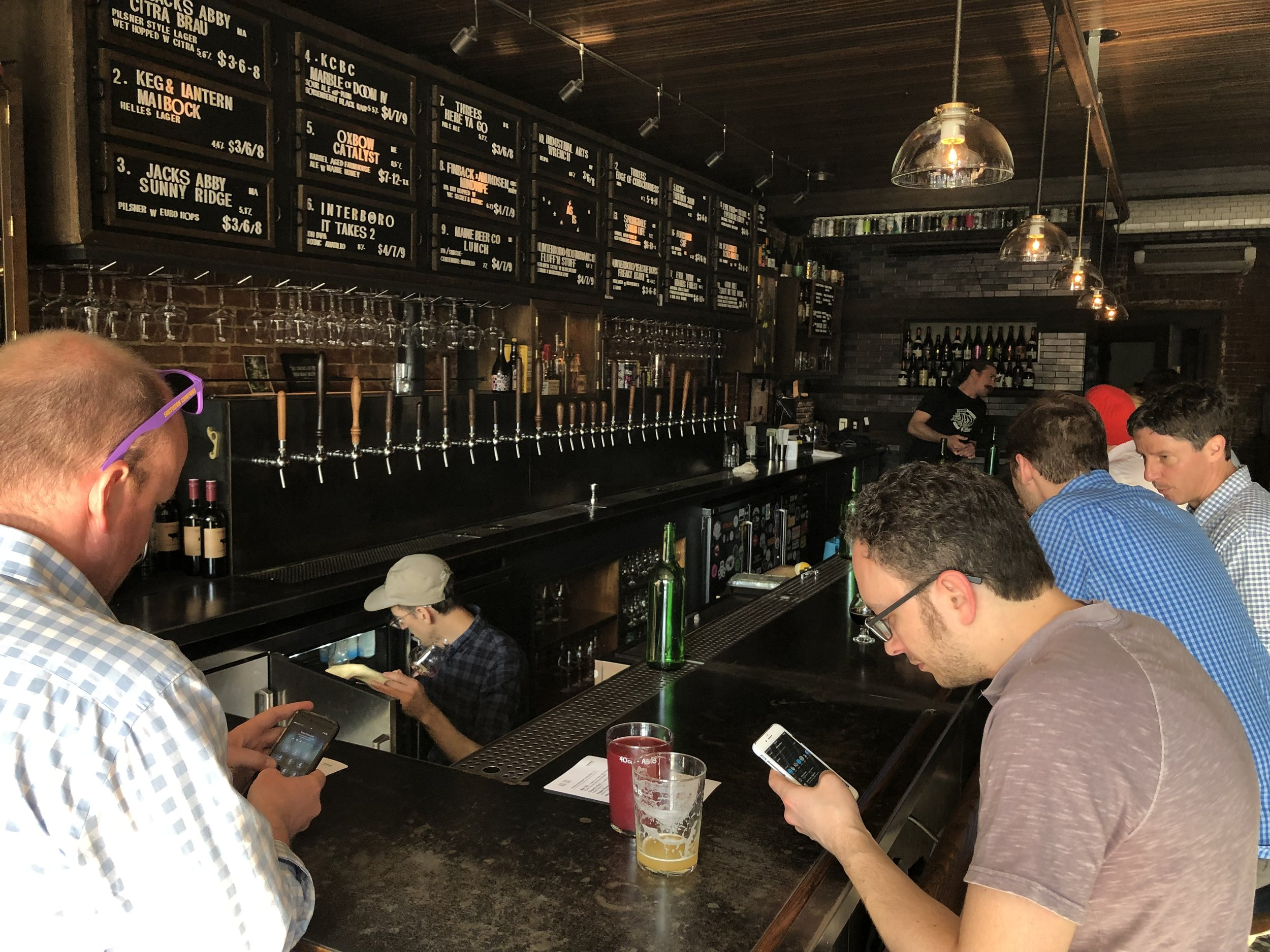 As Is taproom in Manhattan.