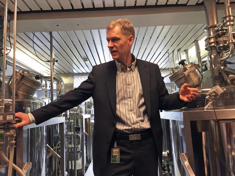 Carlsberg brewmaster Erik Lund