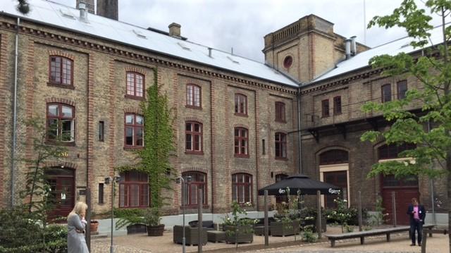 Carlsberg's original brewery complex.