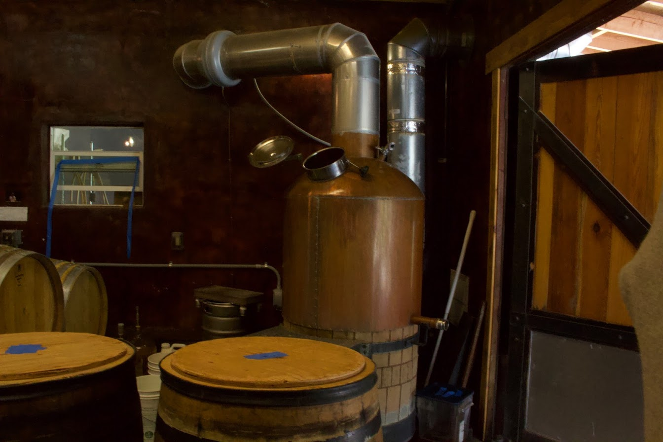 Ale Apothecary's brewhouse.