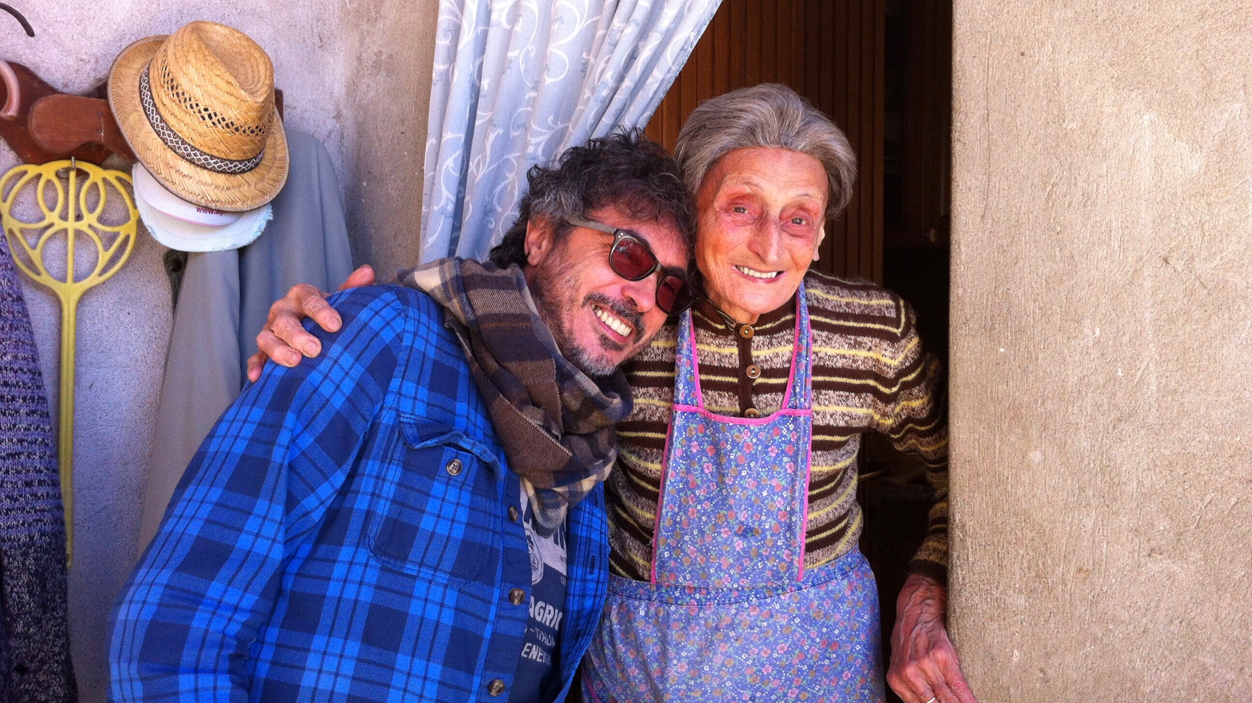 Baladin - Teo Musso with his mom (Piozzo, Italy)