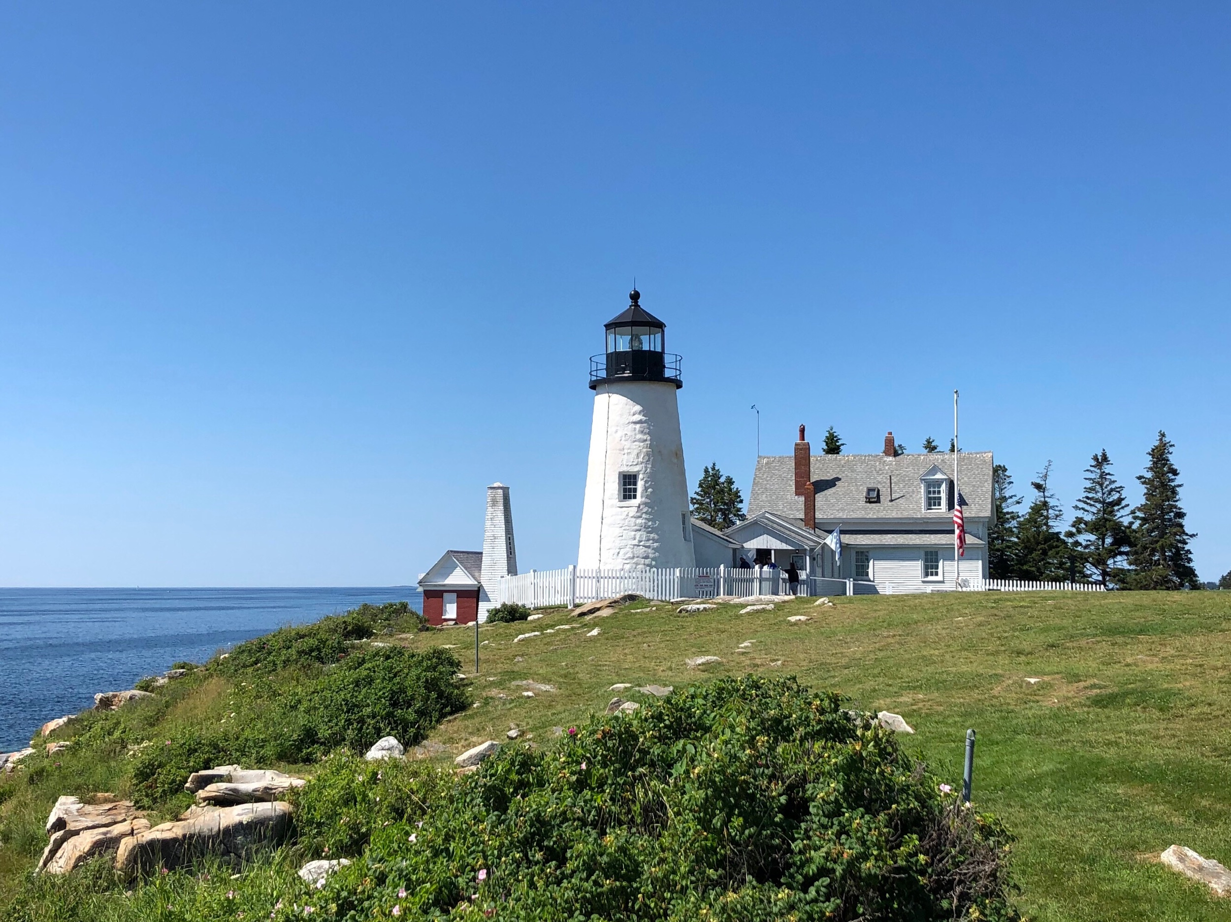 This is the Pemequid Point Lighthouse, which has nothing to do with beer—but which is beautiful nonetheless.