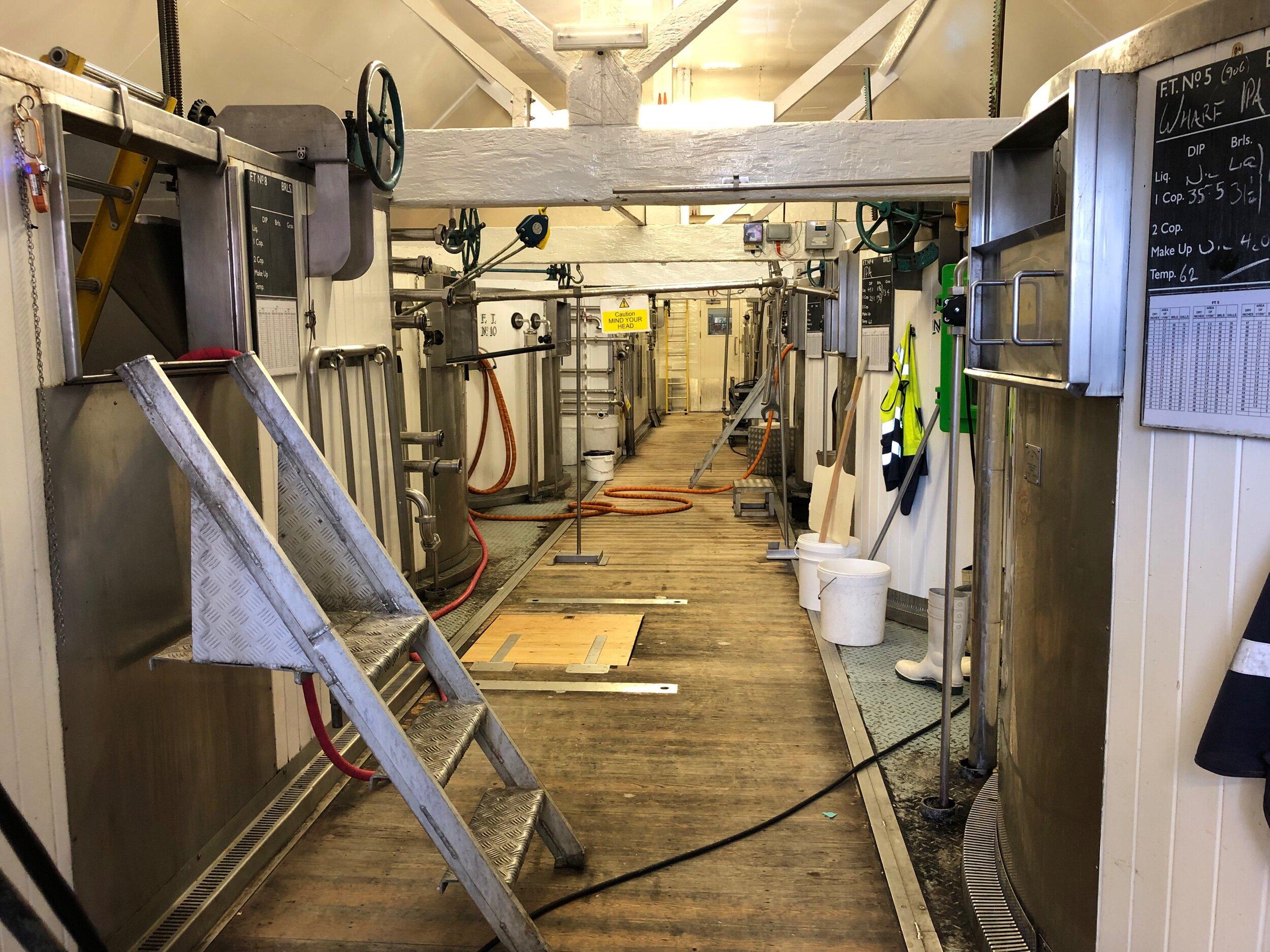 Fermentation room.