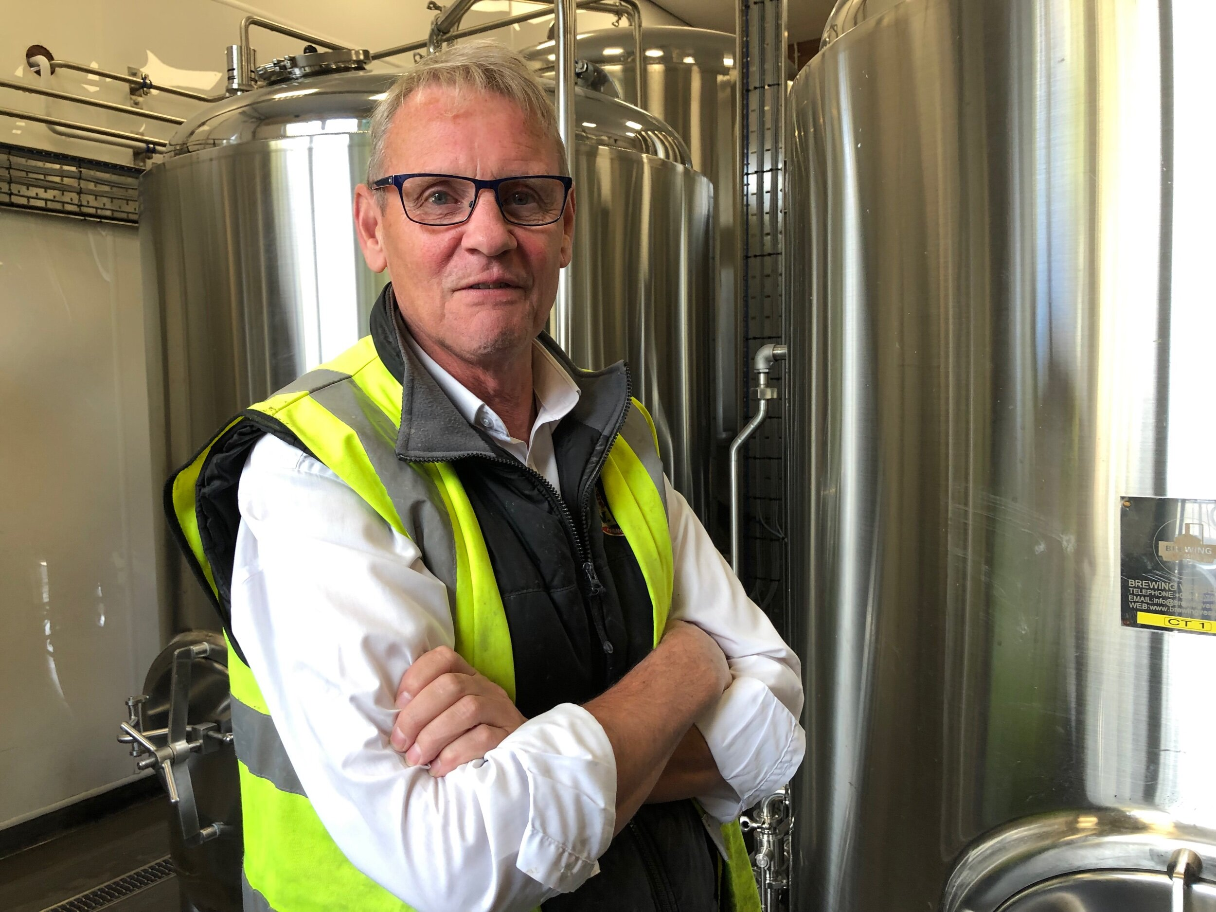 Paul Wood, currently in charge of the test brewery, who was the longtime head brewer. He started at Lee's in 1972.