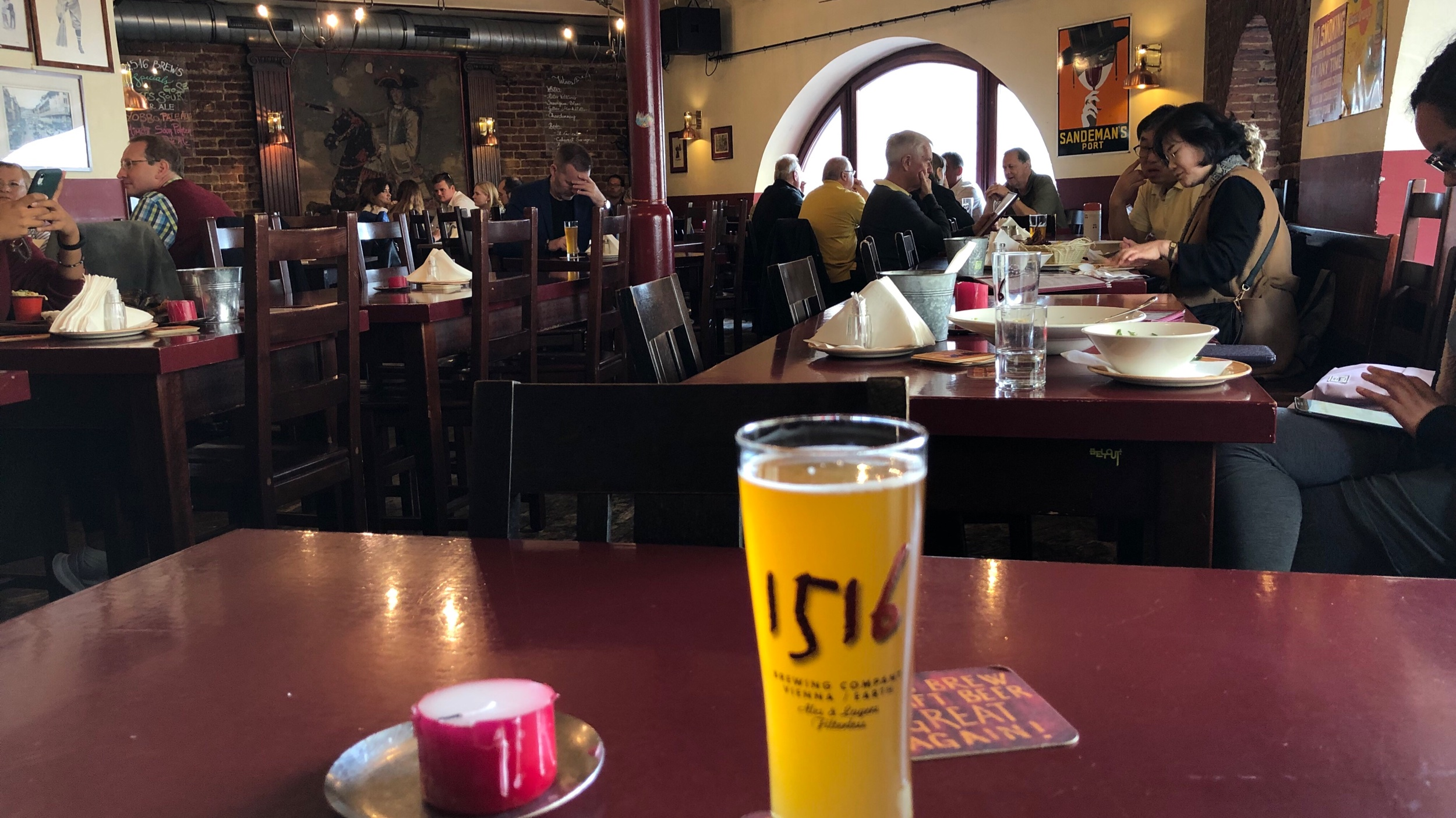1516 Brewing, in the heart of the old town