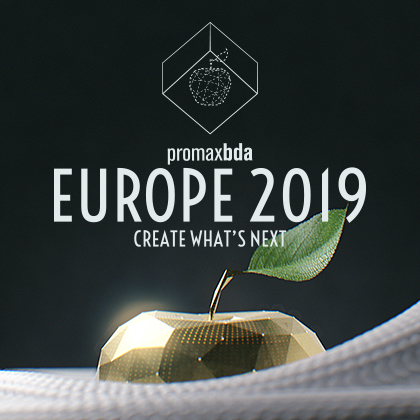 Missed us at Promax Amsterdam? - Find out about our Promax Europe session: Your Prescription For Better Creative