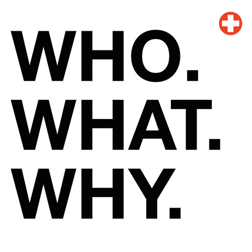 Just three little words - We are the WHO, WHAT, WHY agency. We think this is the perfect amount of information to set all your strategic and creative goals to make your brand better