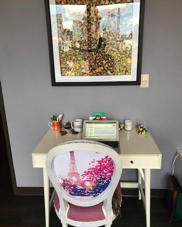 Working hard here at #progresswellness #wellness! I try to make my work space fun to help entice me to get things done! I love color and little things that have nice memories attached to them. Having a fun working environment can help inspire #creativity and #motivation. What do you have in your work space that helps you feel good? #healthyliving #healthyeating #healthylifestyle #healthyfood #mindfulness #mindful #loveandlight #healthylife #positivethoughts #positivelife #positivemind #positiveenergy #positivequotes #positivethinking #positivepeople #meditate #enlightenment #healthychoices #consciousness #positivevibes #peaceonearth #motivationalquotes #successquotes #inspiringquotes #quotesdaily #inspirationalquote