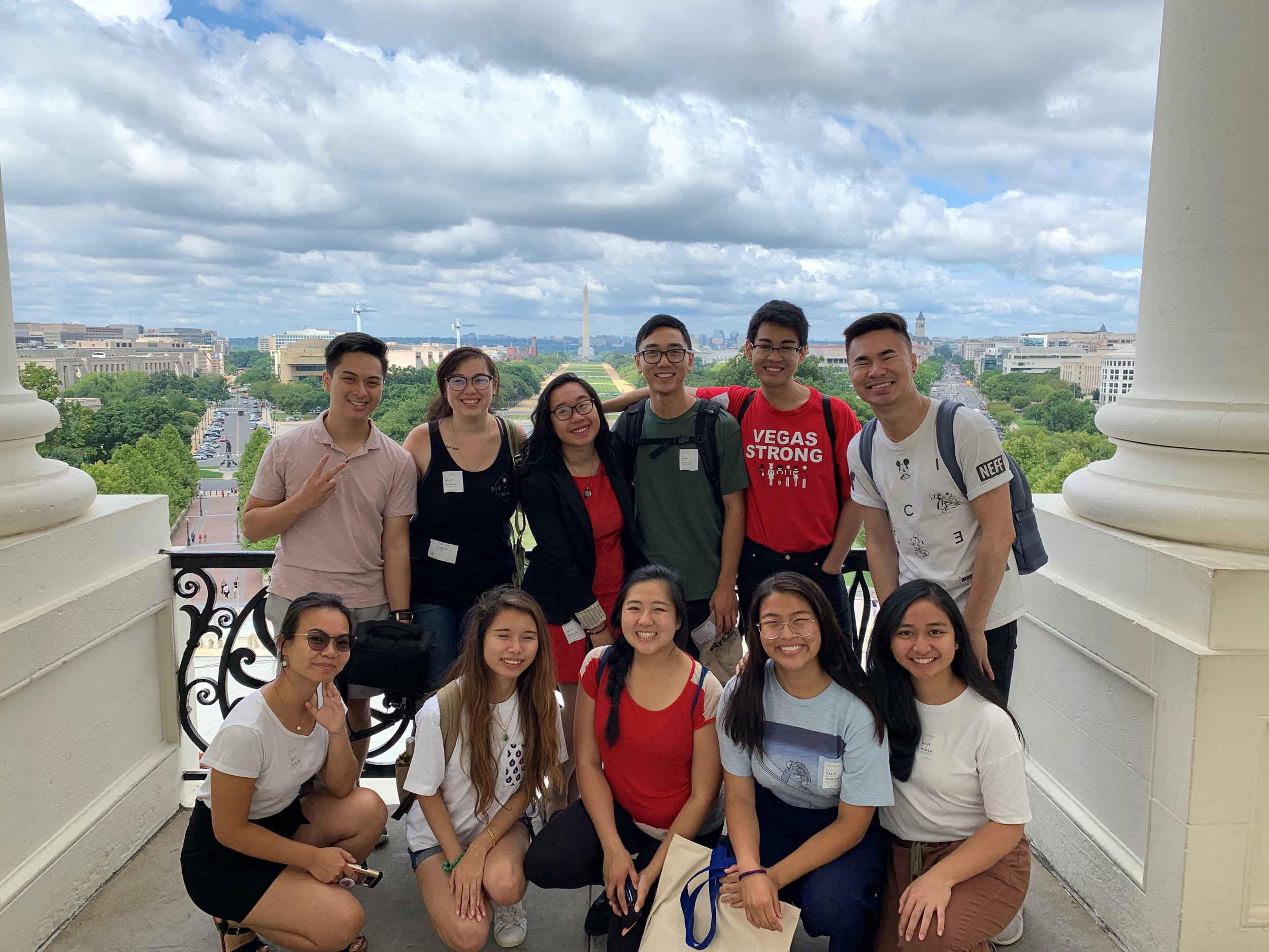 Summer Internship Program - Our 2019 cohort of Summer Interns took a tour of the Capitol! Thank you to Coca Cola, ComcastNBCUNiversal, and Southwest Airlines for making this program possible. For over 35 years, we have been able to develop over 150 students through our DC internship program.