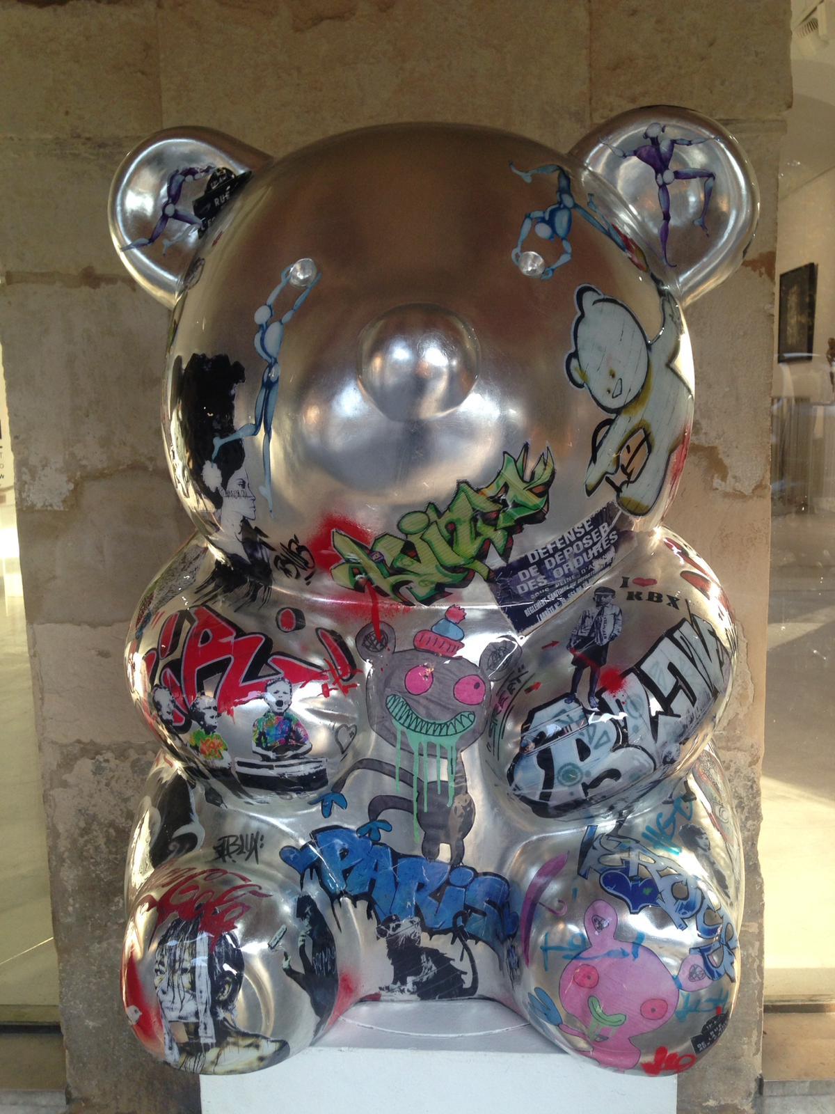 NATHALIE LAUDON | NOUNOURS STREET ART