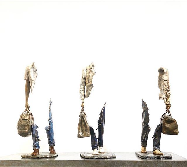 "🔺@demedicisgallery  18 Place des Vosges 75004 Paris WWW.DEMEDICIS-GALLERY.COM ▬▬▬▬▬▬▬▬▬▬▬▬▬▬▬▬▬▬▬▬ 🔺 BRUNO CATALANO 🔺 ☛ bronze sculpture TITLE : ""TRIO"" Dimensions : 92x 53 x 35 cm ▬▬▬▬▬▬▬▬▬▬▬▬▬▬▬▬▬▬▬▬ #placedesvosges #paris #art  #contemporaryart  #drawing #illustration #auction #brunocatalano  #christies #sothebeys #catalano #installation #DeMedicisGallery"
