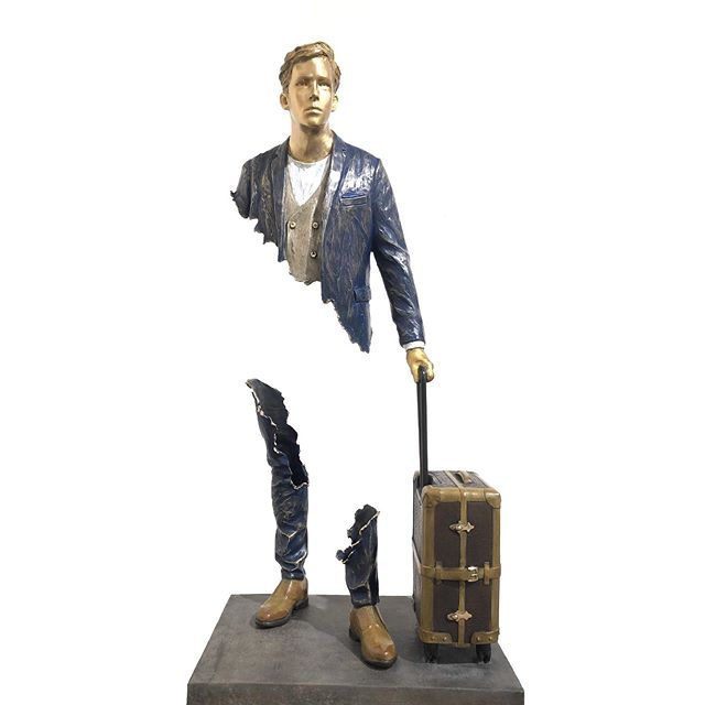 "🔺@demedicisgallery  18 Place des Vosges 75004 Paris WWW.DEMEDICIS-GALLERY.COM ▬▬▬▬▬▬▬▬▬▬▬▬▬▬▬▬▬▬▬▬ 🔺 BRUNO CATALANO 🔺 ☛ bronze sculpture TITLE : ""SIMONE "" Dimensions : 103x42x29 cm ▬▬▬▬▬▬▬▬▬▬▬▬▬▬▬▬▬▬▬▬ #placedesvosges #paris #art  #contemporaryart  #drawing #illustration #auction #brunocatalano  #christies #sothebeys #catalano #installation #DeMedicisGallery"