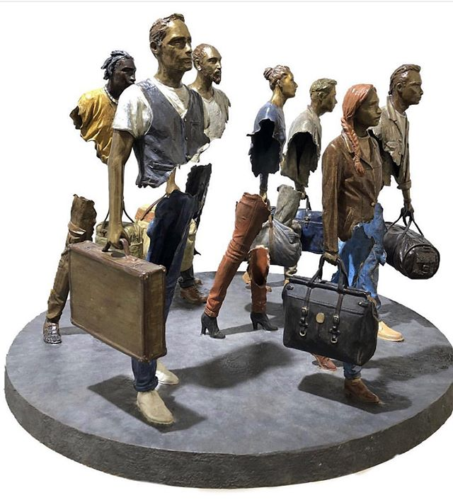 "🔺@demedicisgallery  18 Place des Vosges 75004 Paris WWW.DEMEDICIS-GALLERY.COM ▬▬▬▬▬▬▬▬▬▬▬▬▬▬▬▬▬▬▬▬ 🔺 BRUNO CATALANO 🔺 ☛ bronze sculpture TITLE : ""LA FOULE "" Dimensions : 78x 78 x 60 cm ▬▬▬▬▬▬▬▬▬▬▬▬▬▬▬▬▬▬▬▬ #placedesvosges #paris #art  #contemporaryart  #drawing #illustration #auction #brunocatalano  #christies #sothebeys #catalano #installation #DeMedicisGallery"