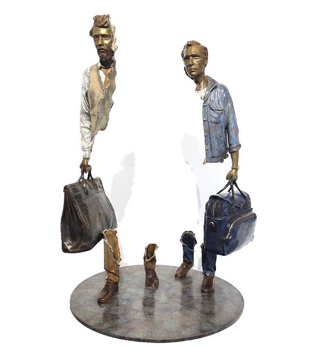 "🔺@demedicisgallery  18 Place des Vosges 75004 Paris WWW.DEMEDICIS-GALLERY.COM ▬▬▬▬▬▬▬▬▬▬▬▬▬▬▬▬▬▬▬▬ 🔺 BRUNO CATALANO 🔺 ☛ bronze sculpture TITLE : ""LES ÉCORCHÉS""  Dimensions : 50x30x30 cm ▬▬▬▬▬▬▬▬▬▬▬▬▬▬▬▬▬▬▬▬ #placedesvosges #paris #art  #contemporaryart  #bronze #sculpture #illustration #auction #brunocatalano  #christies #sothebeys #photooftheday  #DeMedicisGallery"