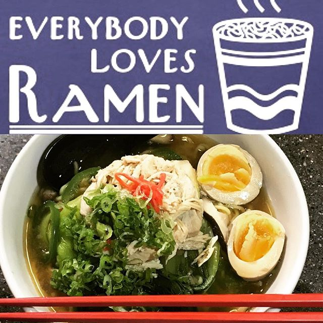 It is cold, come to try our special today Ramen Noodle! Available at our Norton Commons location!