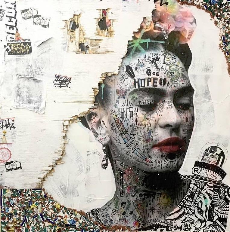 Freedom Frida : 152.4x152.4 cm (60x60 inches) .jpg