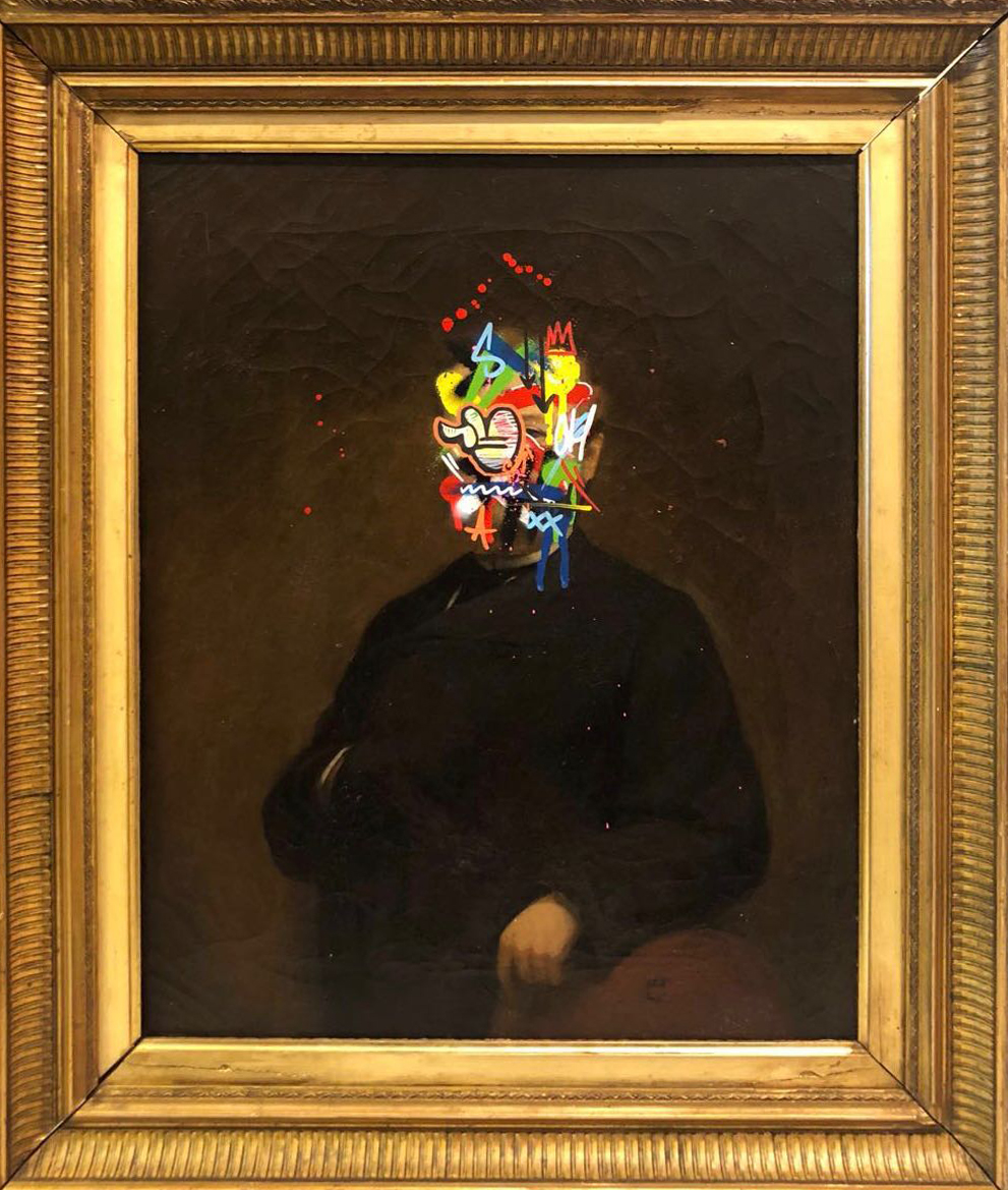 MARTIN WHATSON | Portayed by a tagger (Sold)