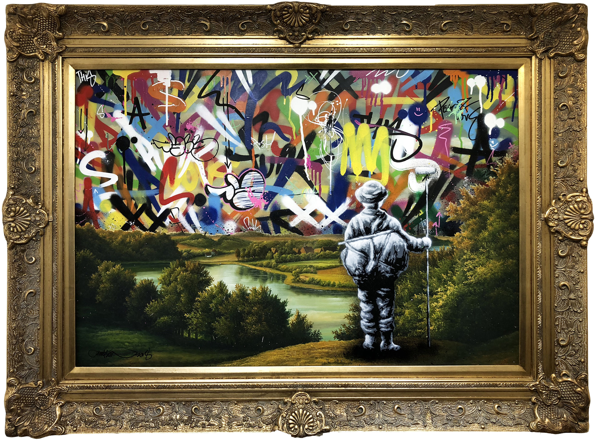 MARTIN WHATSON | The View (vintage) (Sold)