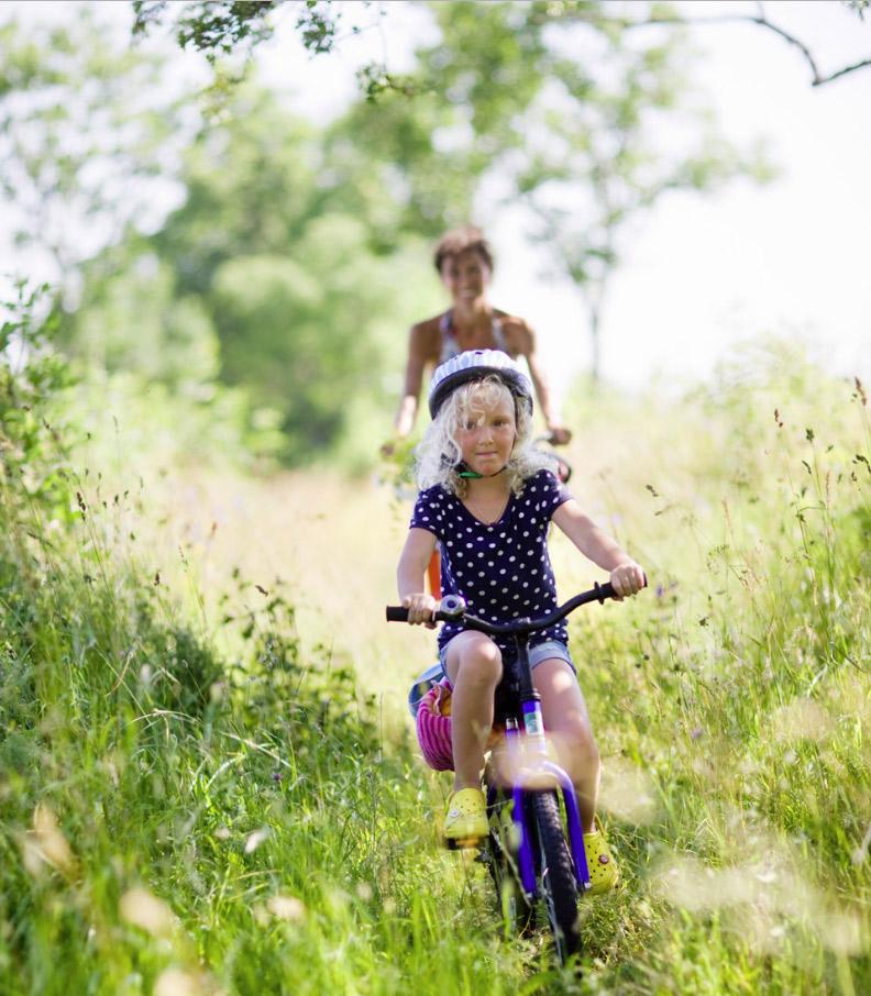 Sykkelturer<strong>Bysykkel, turer i marka og i skjærgården.</strong>