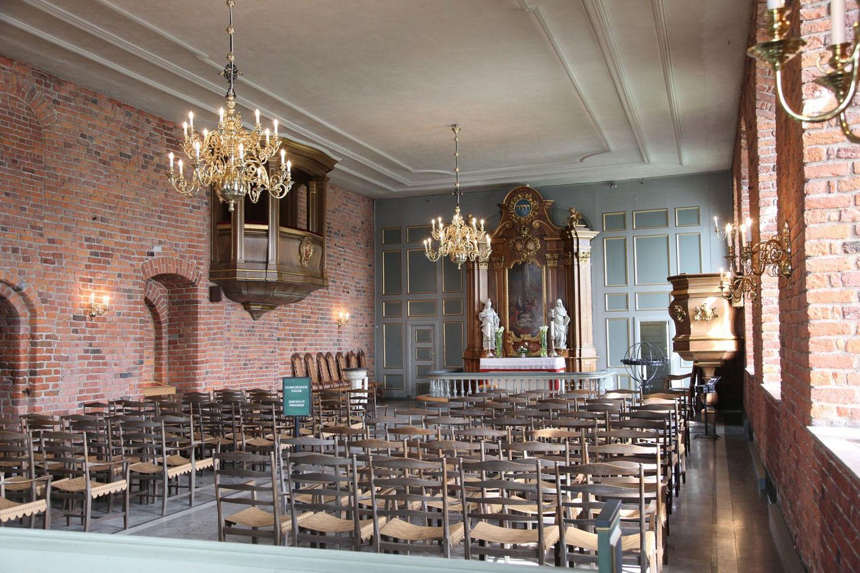Akershus slottskirke. Foto: Hans A. Rosbach
