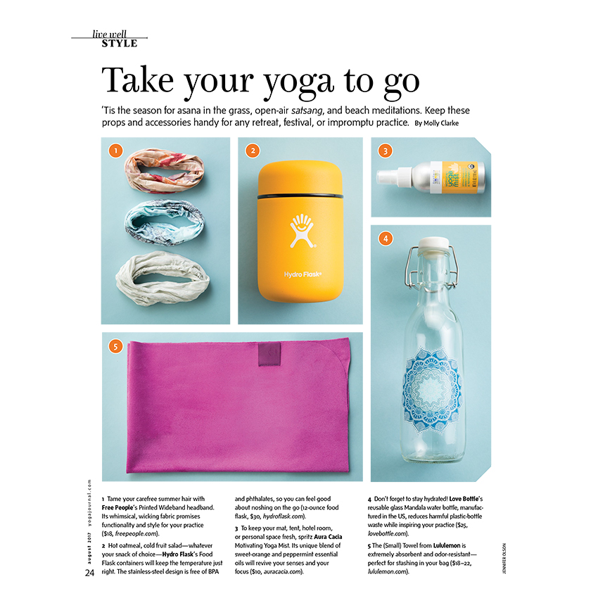 Yoga Journal Magazine July/Aug 2017