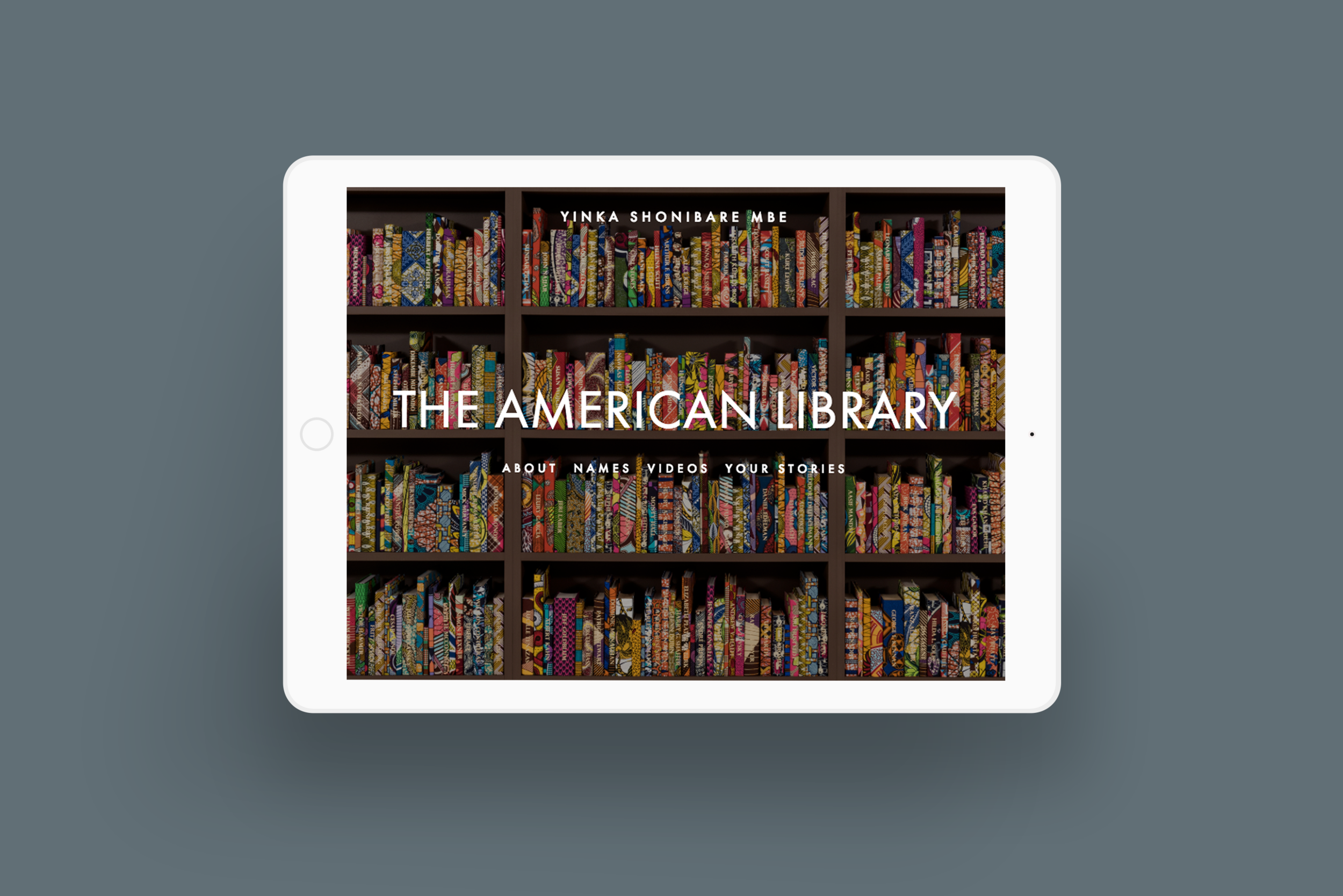 bgsd yinka shonibare the american library installation ipad.png