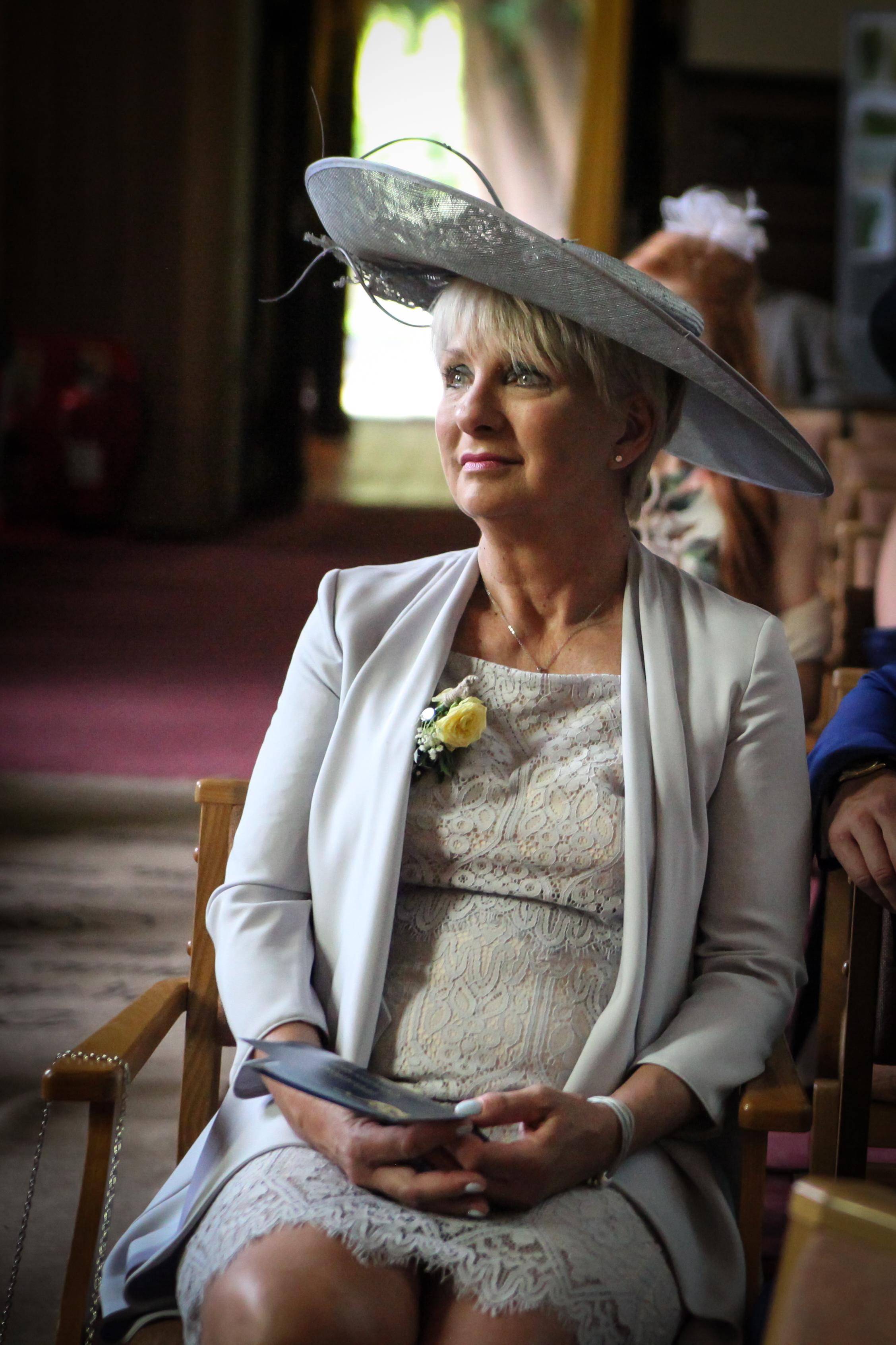 emotional brides mother