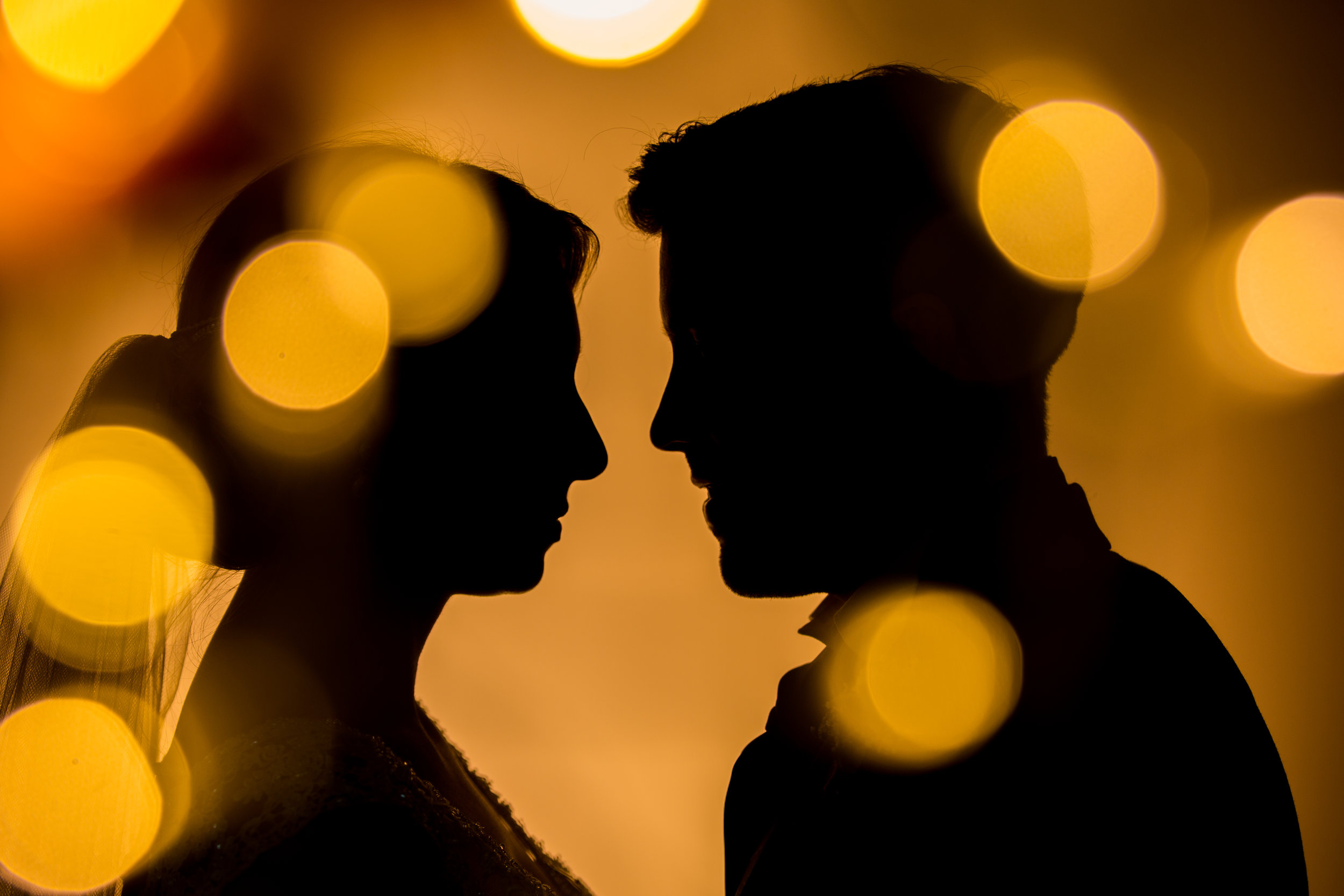 wedding silouette