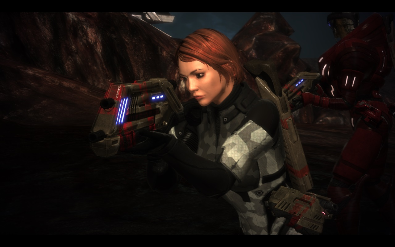 Shepard has found that very few disputes can't be solved with an assault rifle.