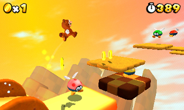 Super Mario 3D Land  is one of the hundreds of excellent 3DS games available.