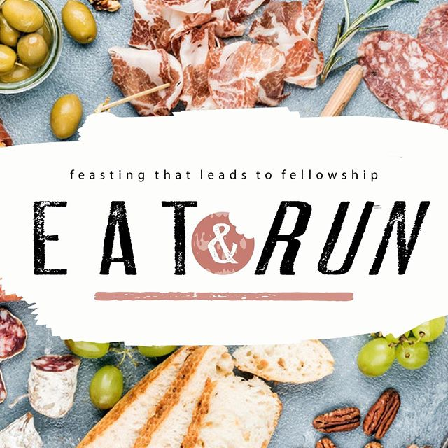 Don't forget to register for Eat & Run to avoid missing out on one of the coolest events you can participate in this year! Spaces are limited. Go to our app!