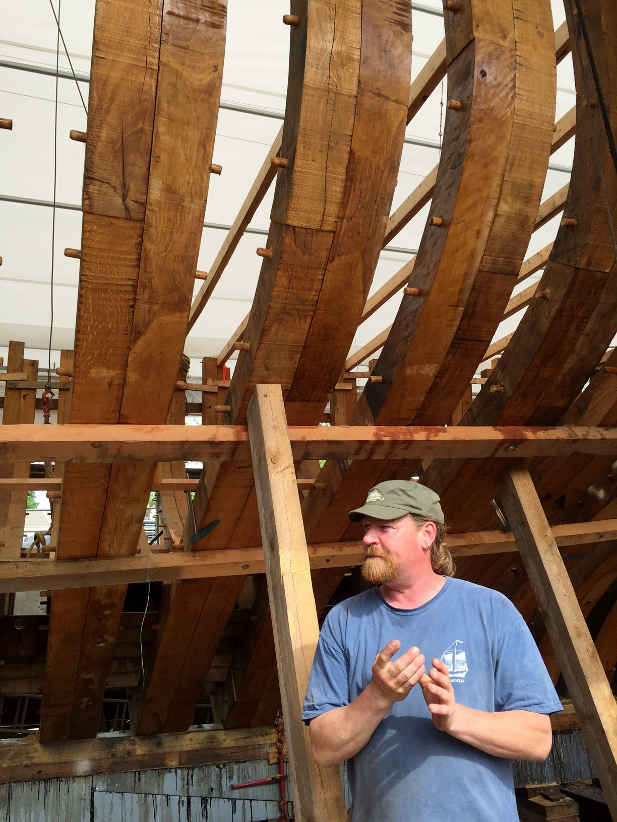The Schooner Ernestina-Morrissey Restoration at the Boothbay Harbor Shipyard