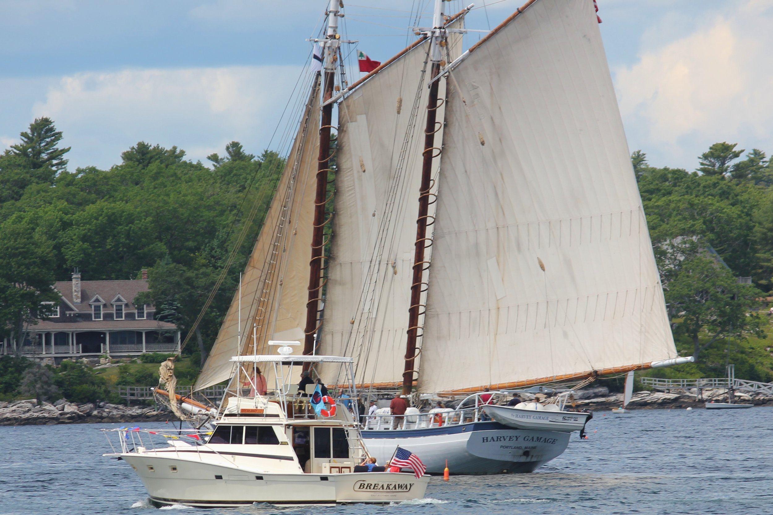 Schooner Harvey Gamage