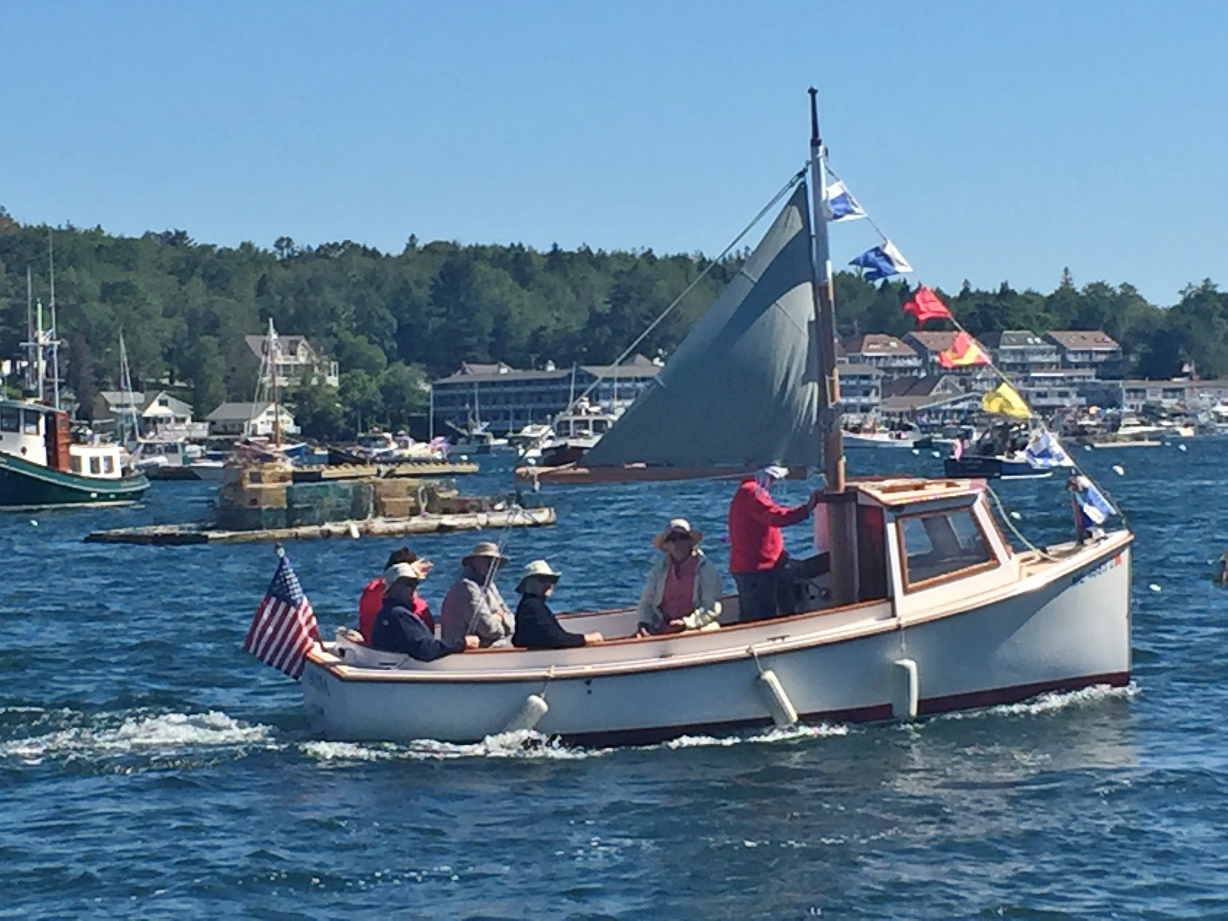Windjammer Days Antique Boat Parade