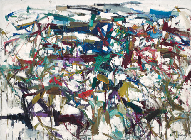 """""""Lady Bug"""" by Joan Mitchell, 1957"""
