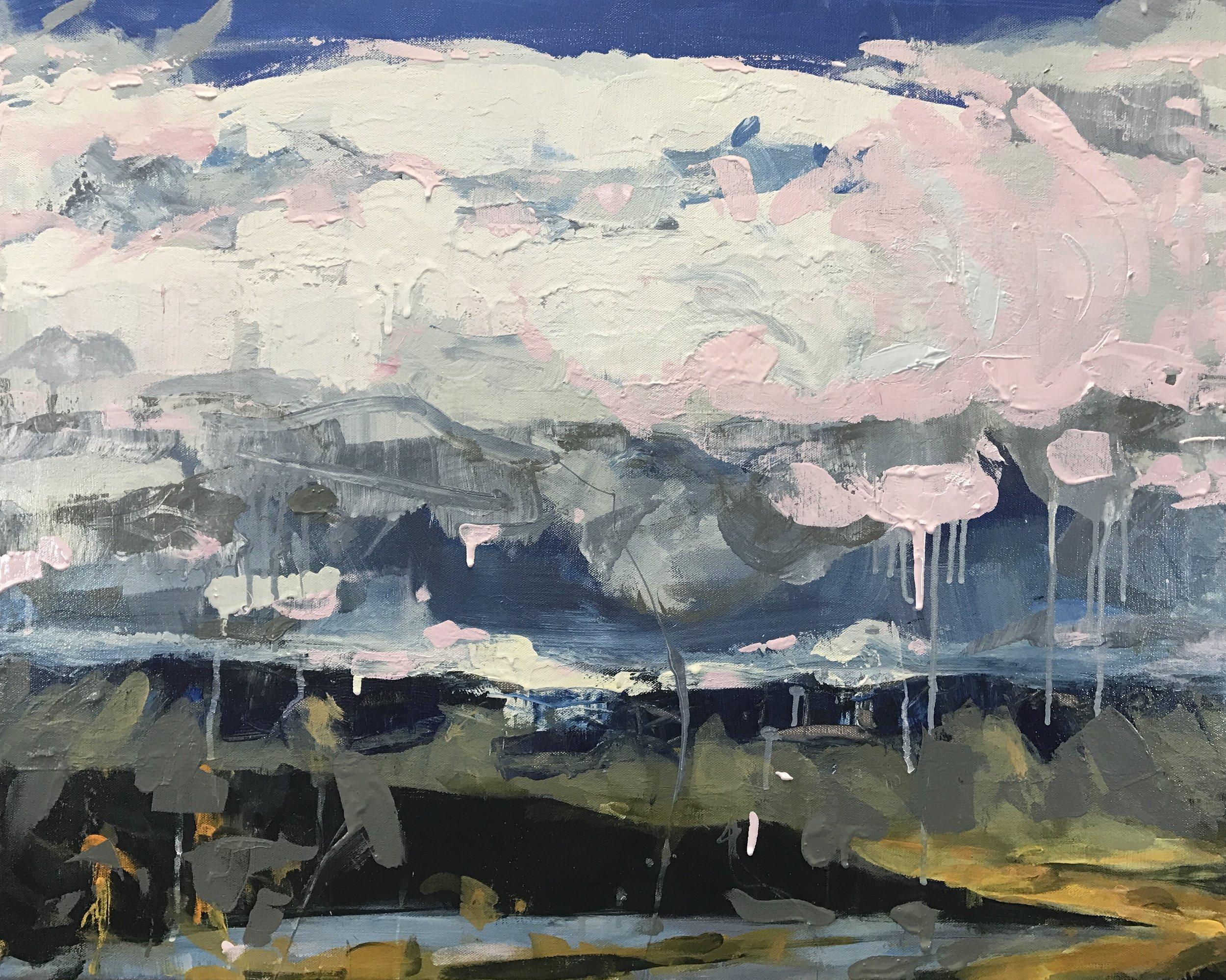 """Cloud Six"" by Sally Veach"