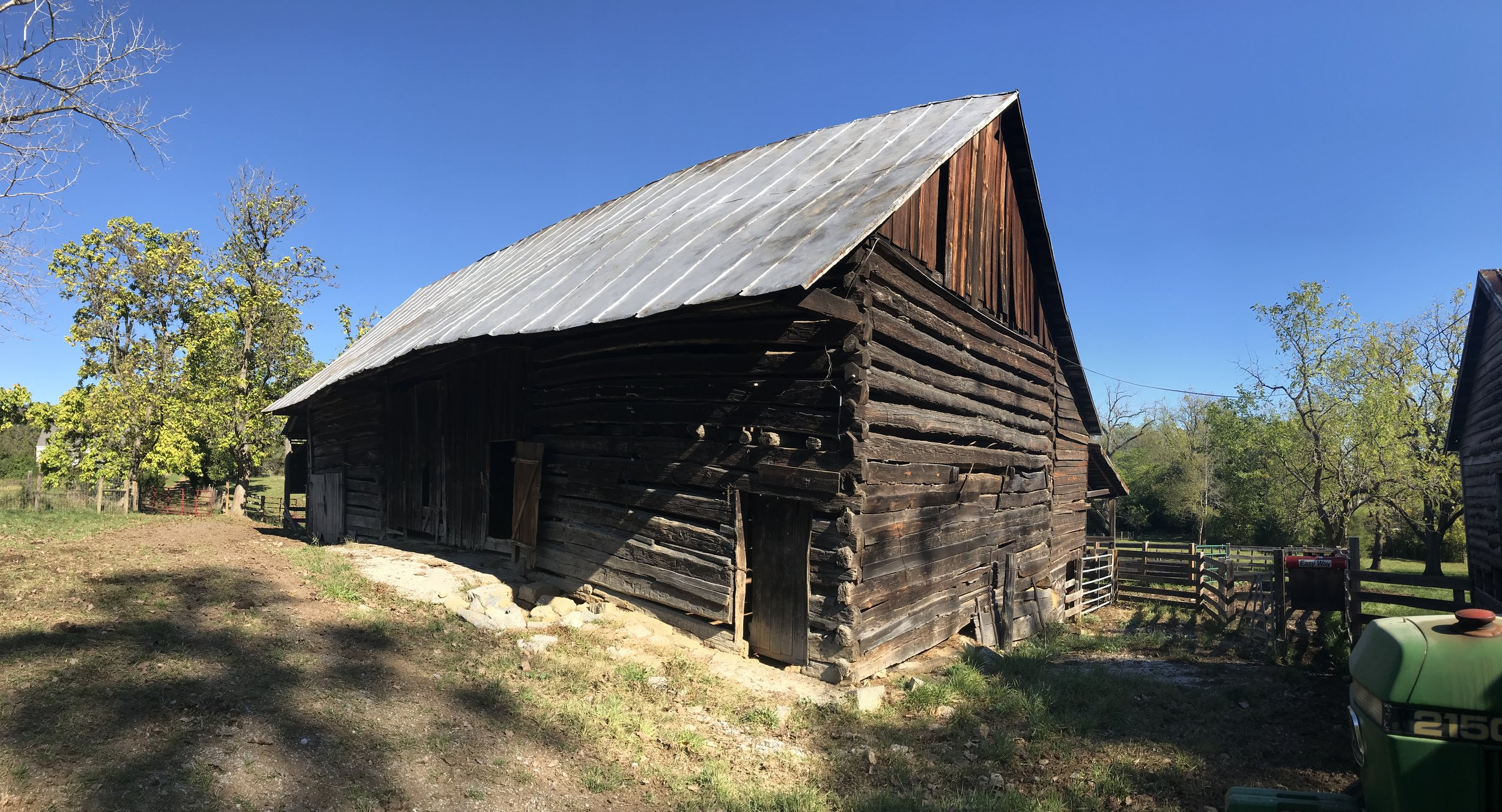An amazing PRE-REVOLUTIONARY WAR barn, right here in Shenandoah County!