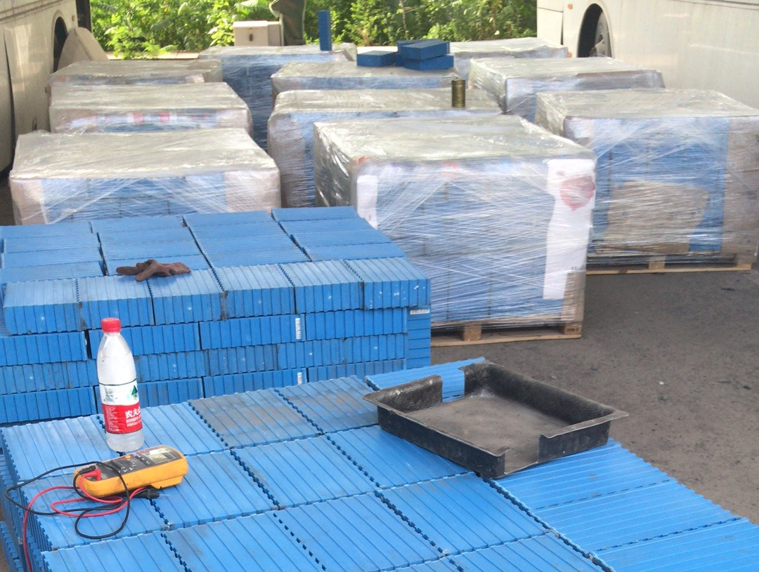 Tested and graded LFP cells from used bus batteries in China ready to be used in second life applications
