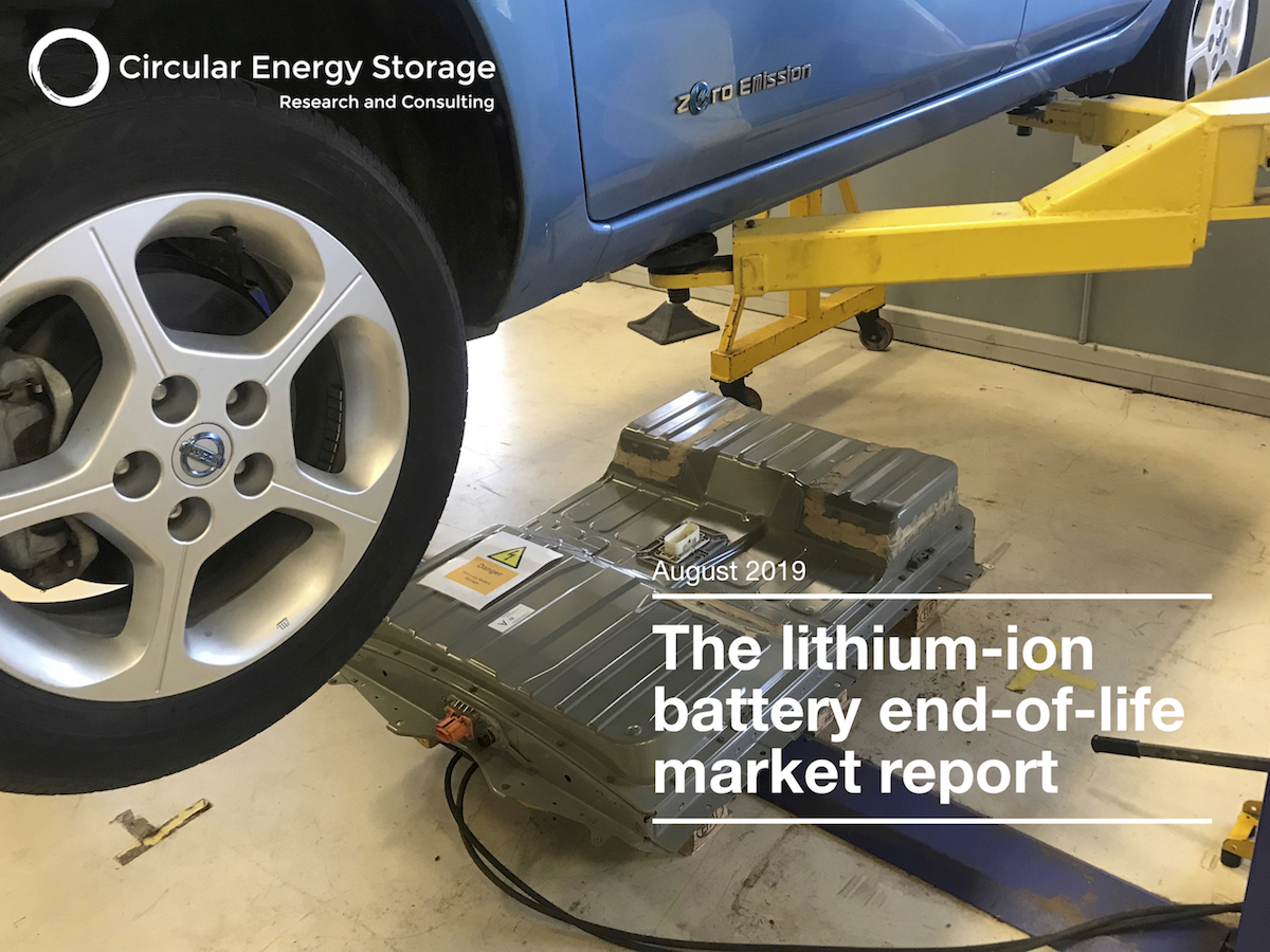 New data, new subscription service - our brand new report will be launched the 1st of August and will be better than ever going from annual to quarterly, covering volumes, prices, market and technology development. The essential tool for everybody involved in the management of the lithium-ion battery's life cycle. Learn more here.