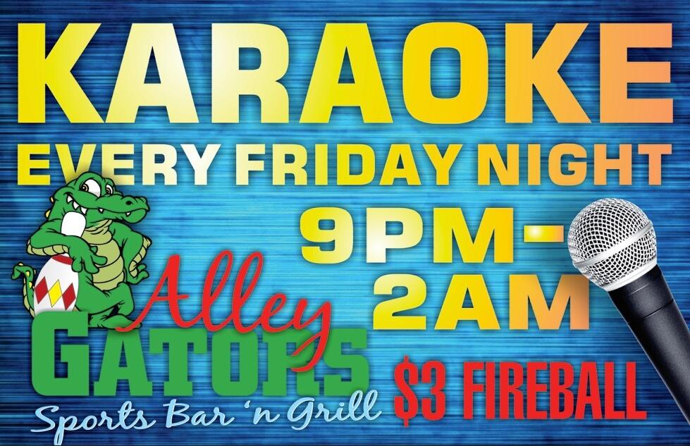 Alley Gators Karaoke
