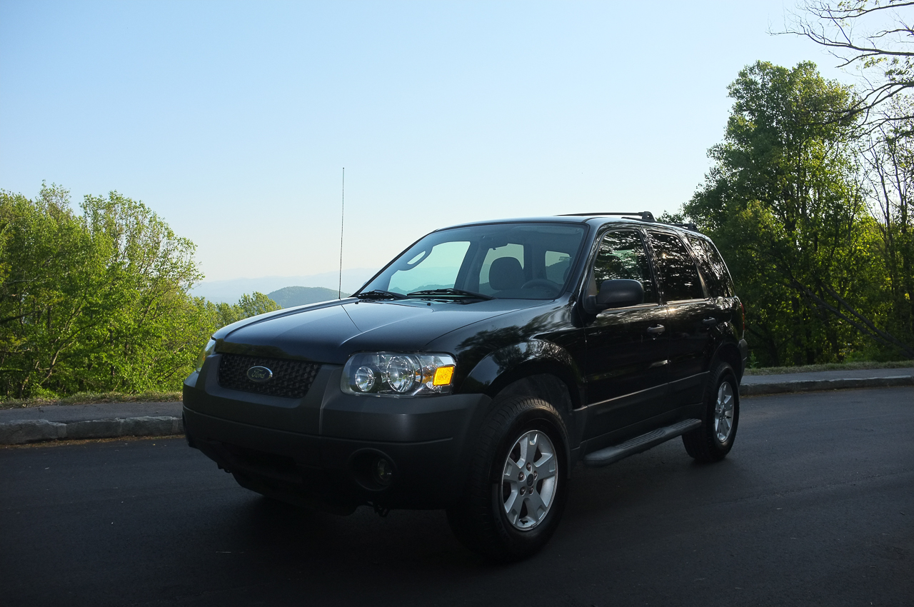 Beth's sleek Escape, a few days before it sold