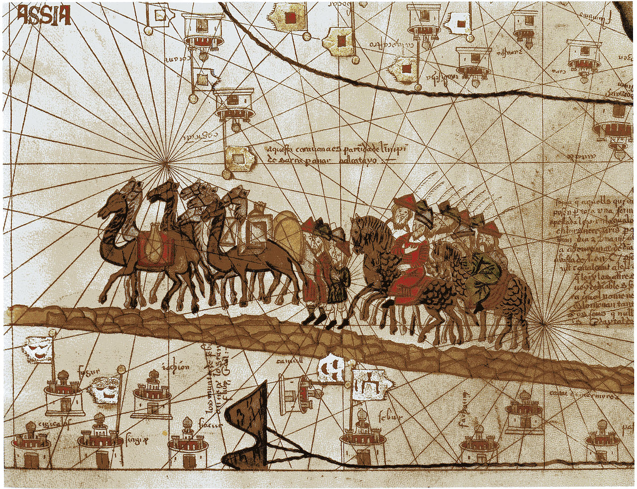 Marco Polo on the Silk Road