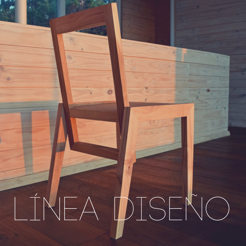 Línea Diseño:  Nuestra línea de las sillas y mesas de diseño