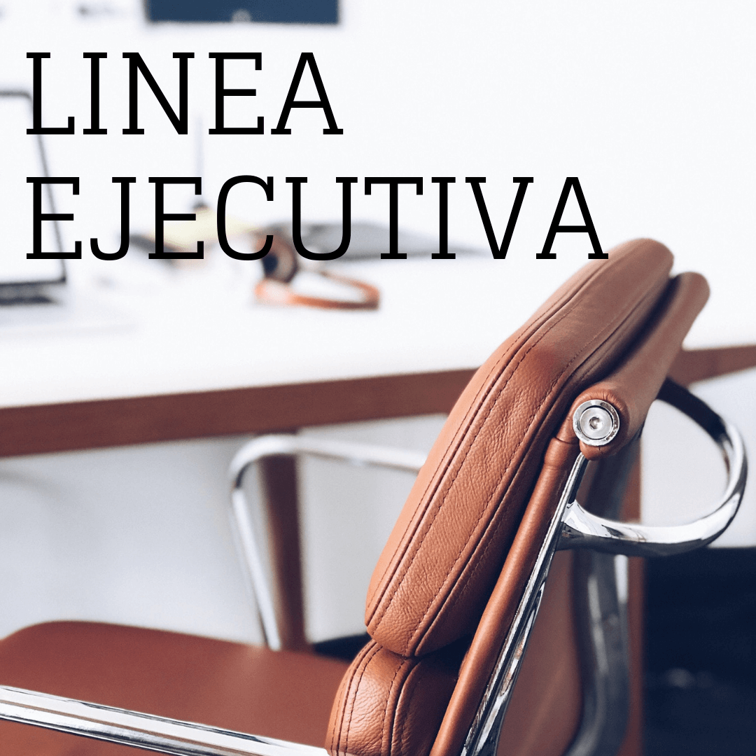 Línea Ejecutiva:  Nuestra línea de las sillas ejecutivas