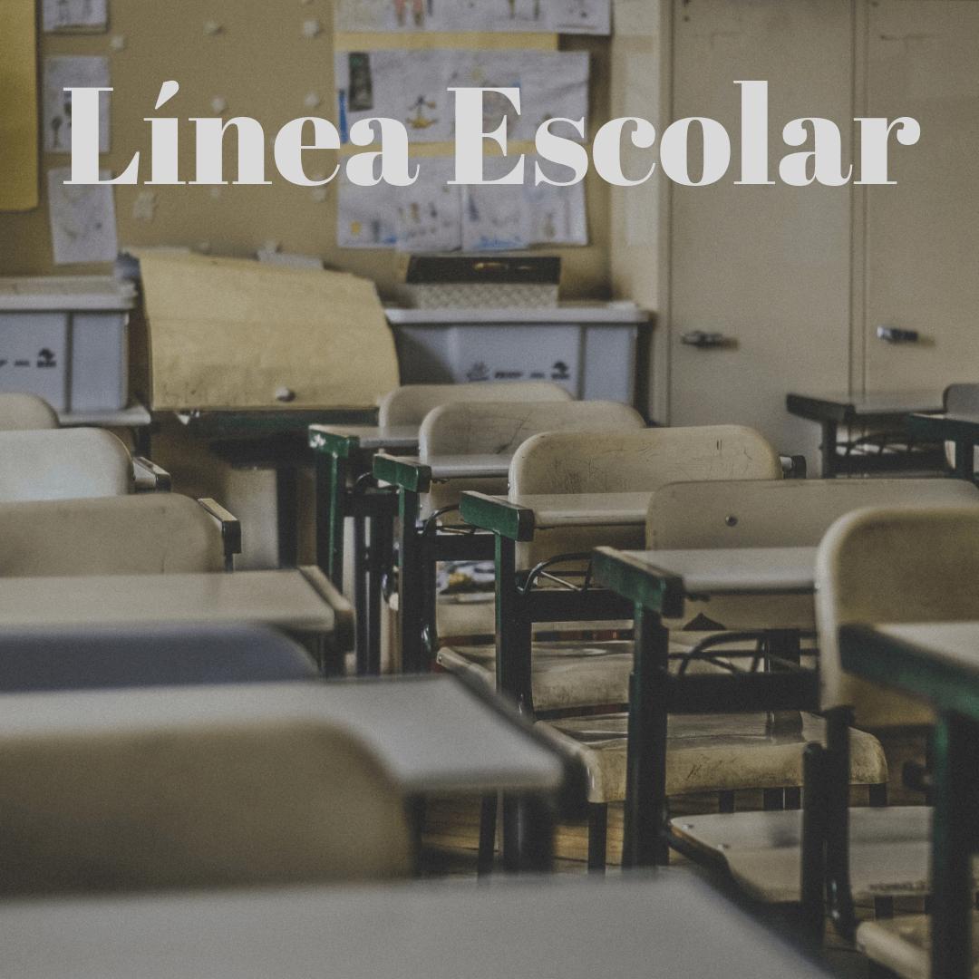 Línea Escolar:  Nuestra línea de las sillas y mesas escolares