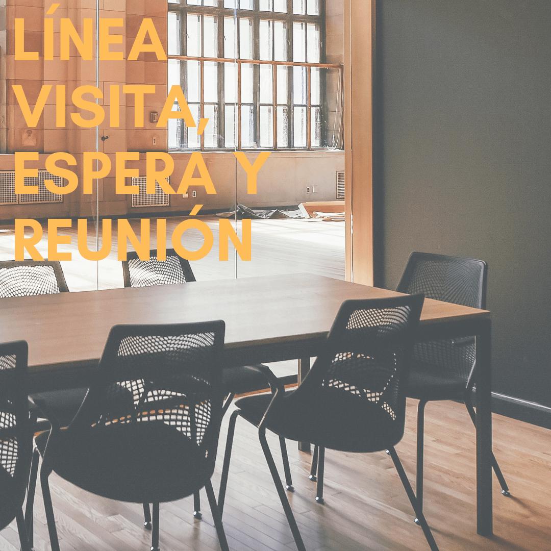 Línea Visita, Espera y Reunión:  Nuestra línea de las sillas de espera y visita