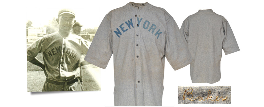 Frank Baker Game-Used Yankee Jersey